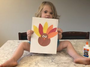 Easy Turkey Craft Activity