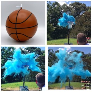 Basketball Gender Reveal