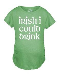 St. Patrick's Day Pregnancy Announcement Shirt