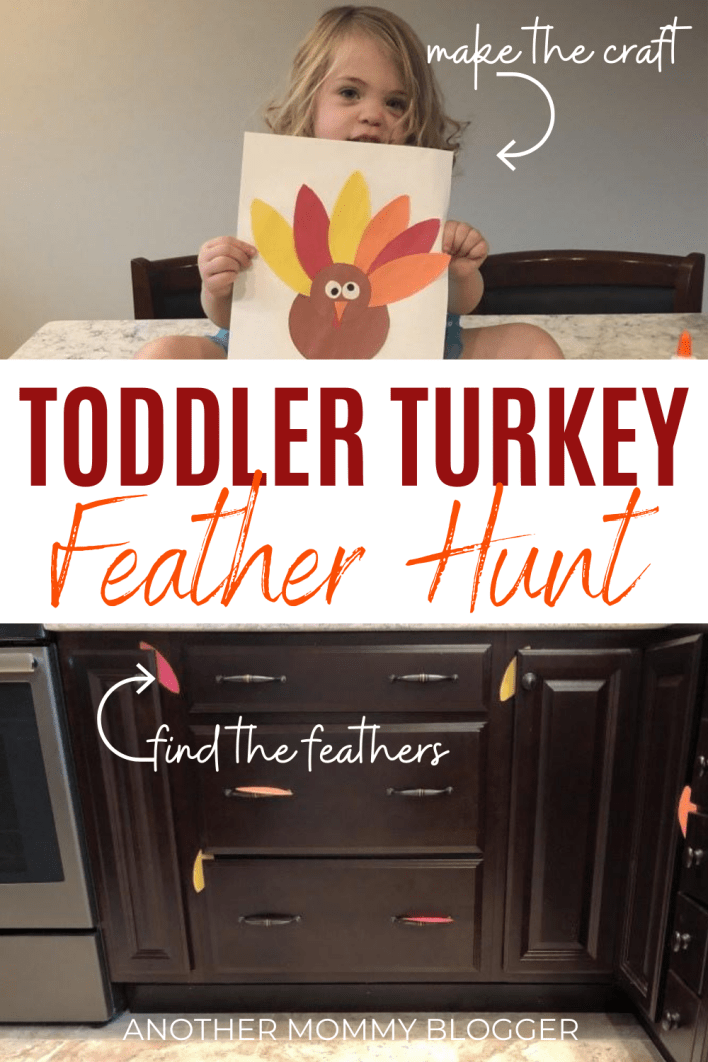 When you need ideas for things for kids to do inside this fall try this turkey craft activity. #toddlercraft #craftsforkids #fallcraft #kidsactivities #indooractivitiesforkids