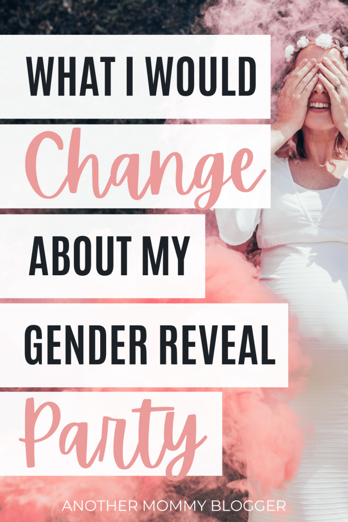 Consider this gender reveal idea before you go through with your gender reveal party. #genderrevealparty