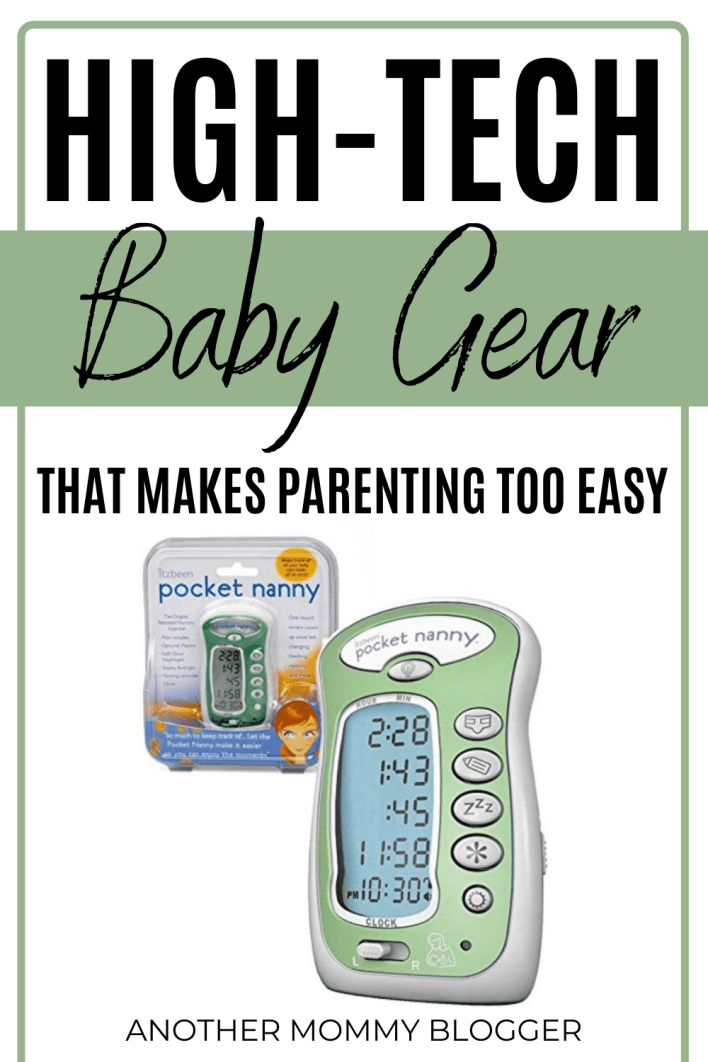 Add these high-tech baby gear must haves to your baby registry checklist. #babygear #babytips #babyregistry