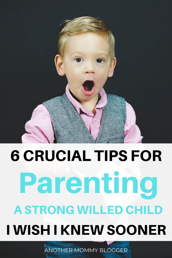 Don't know what to do with a strong willed child? You need these parenting tips. #parenting #kids