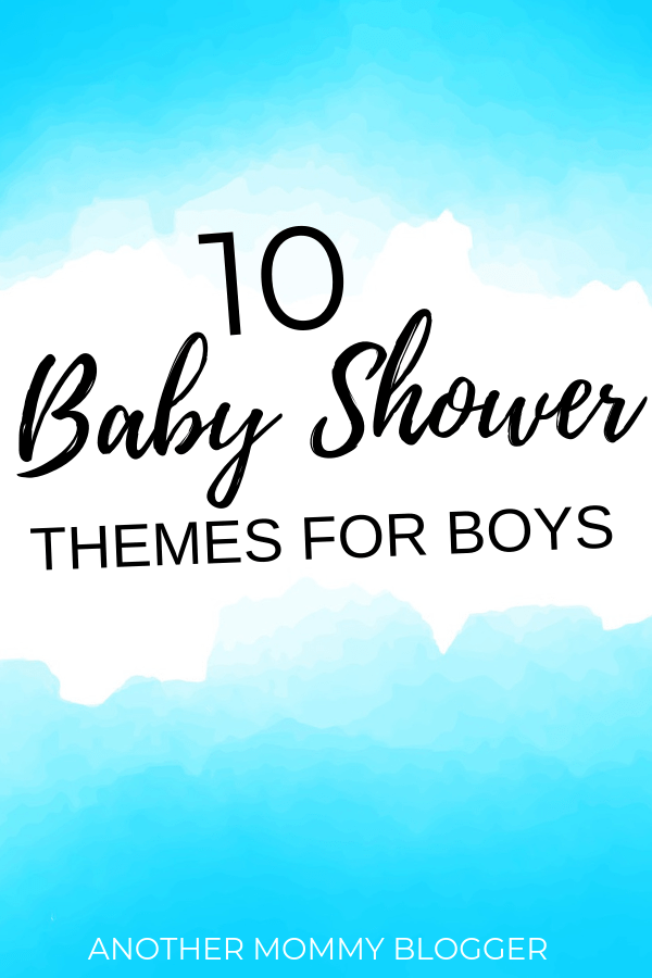 10 Baby Shower Themes For Boys