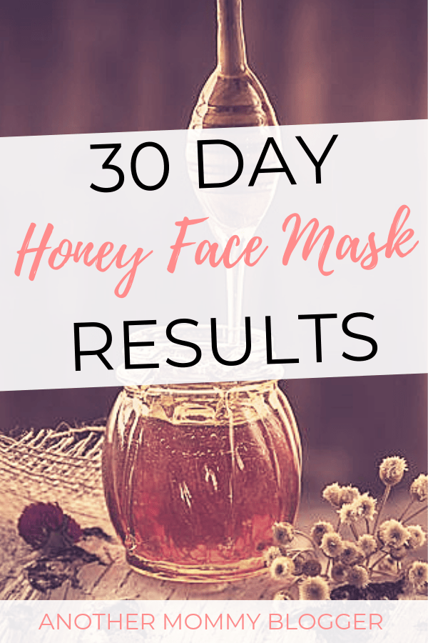30 Day Honey Face Mask Results