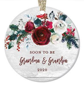 Grandparents pregnancy announcement