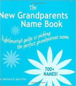 Grandparents name book
