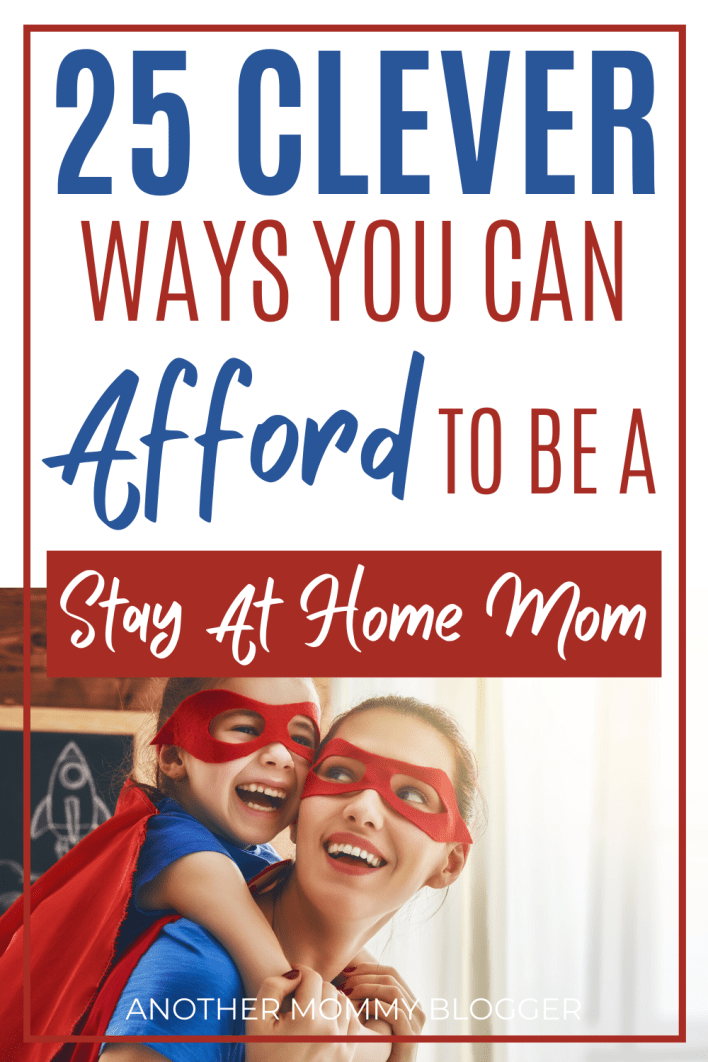Learn these money saving tricks to live on one income and be a stay at home mom. #parentinghacks