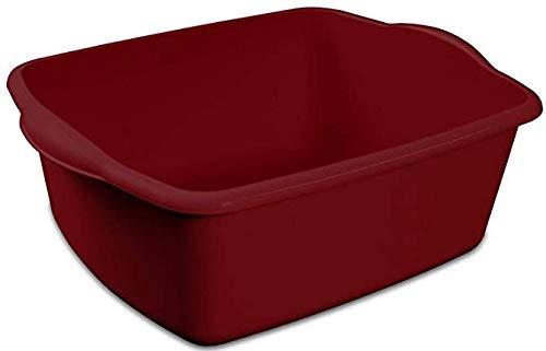 Dishpan basin to keep a kiddie pool clean