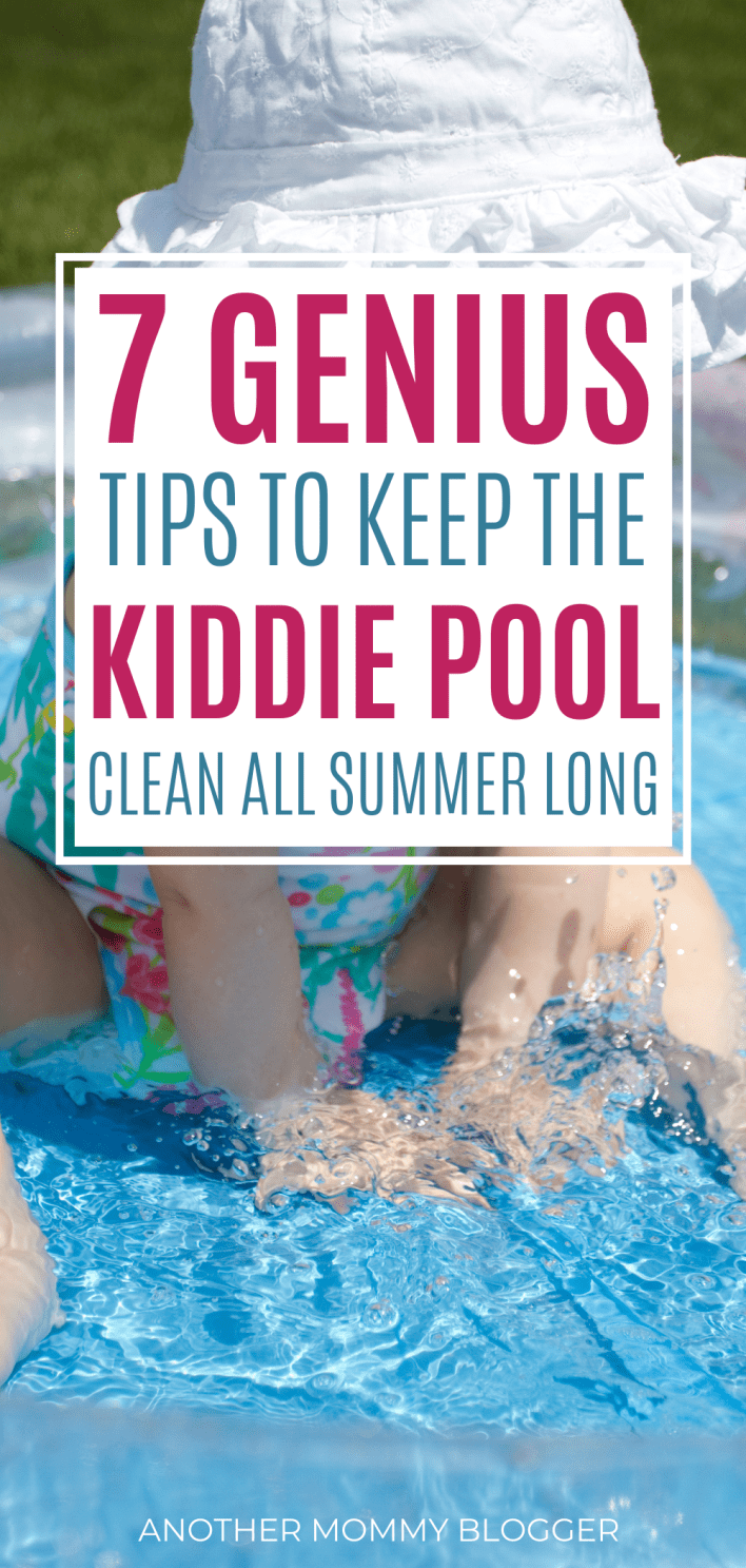 Cleaning a kiddie pool is no fun. Learn how to keep a kiddie pool clean so you don't have to drain it with these kiddie pool cleaning tips.