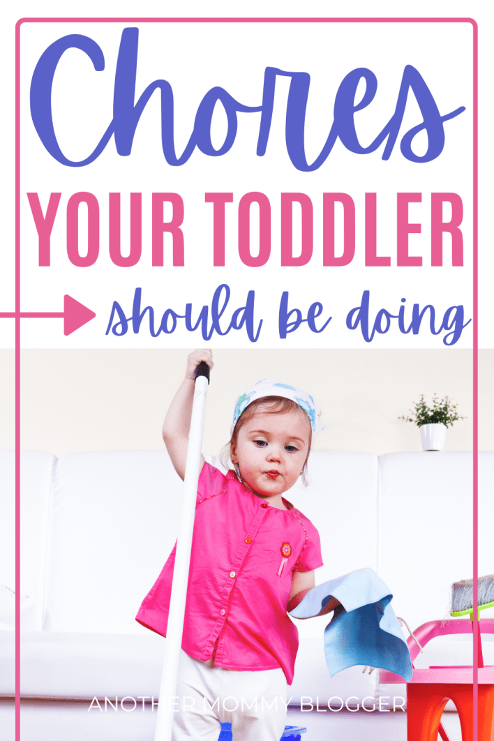 These are age appropriate chores for two year old. Add then to your child's chore chart today. #toddler #parentinghacks