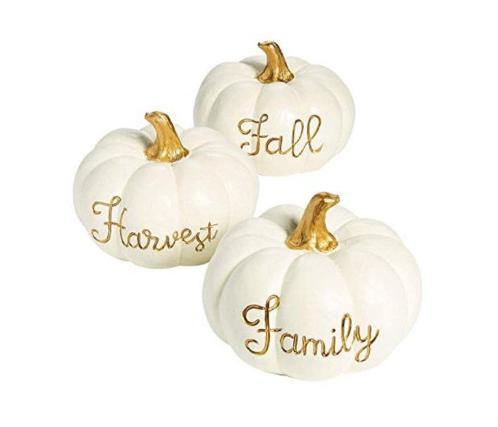 Sweet Fall Pumpkin Centerpieces