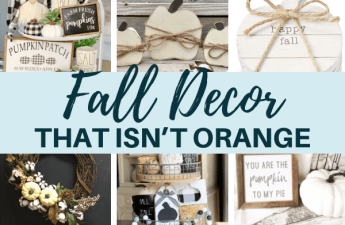 Fall Decor That Isn't Orange