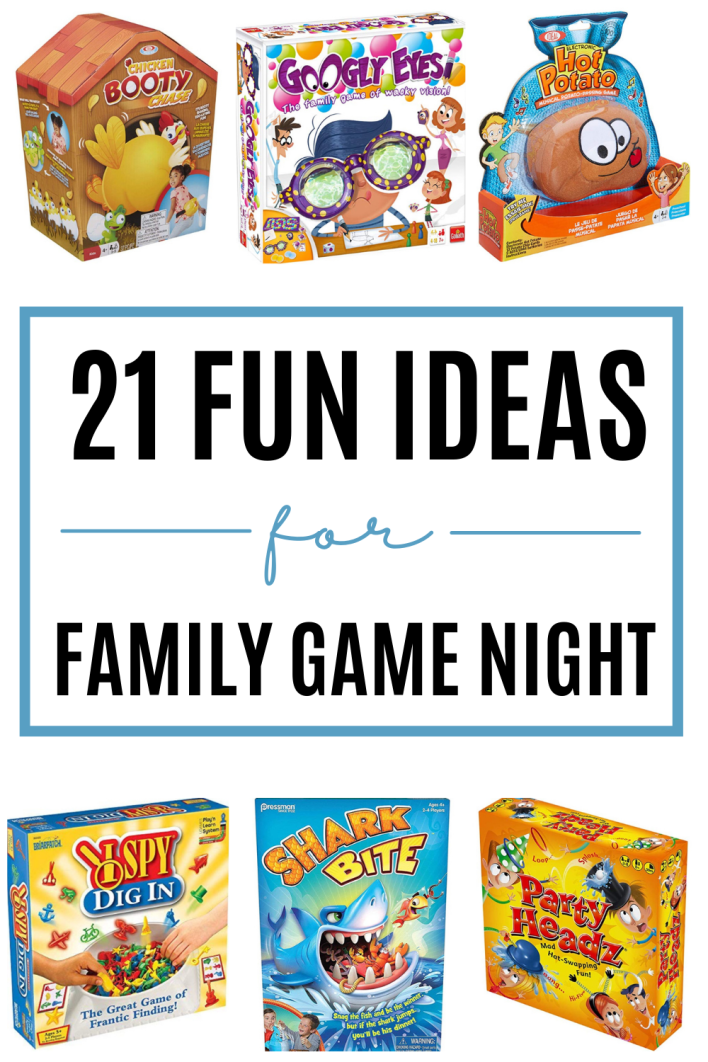 These are fun family game ideas. Try these fun activities for kids the whole family will love.