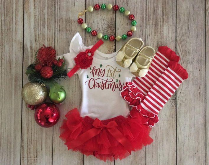 Baby Girl Christmas Outfit