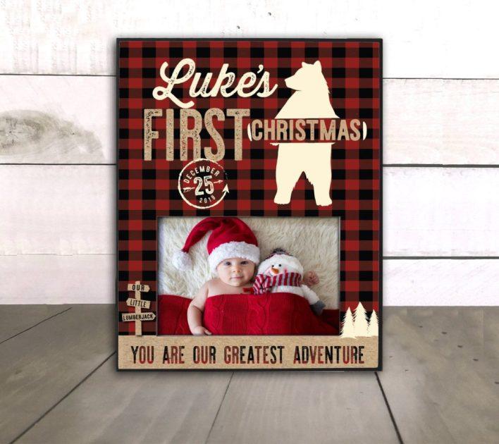First Christmas Keepsake Frame