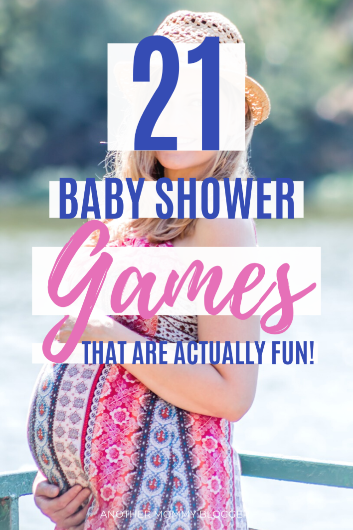 If you want your guest to have fun at your baby shower then you need these fun baby shower games they'll actually want to play. #babyshower #babyshowergames #partygames #pregnancy