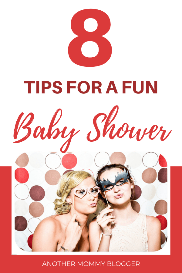 Baby shower tips for throwing a baby shower party that's actually fun! #babyshower #partyideas #babytips #pregnancy