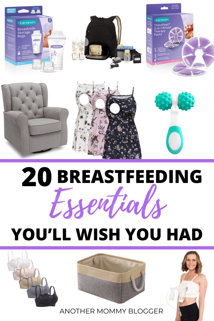 Better than any breastfeeding tips you;ever ever heard. You need to try these breastfeeding essentials to make everything so much easier.