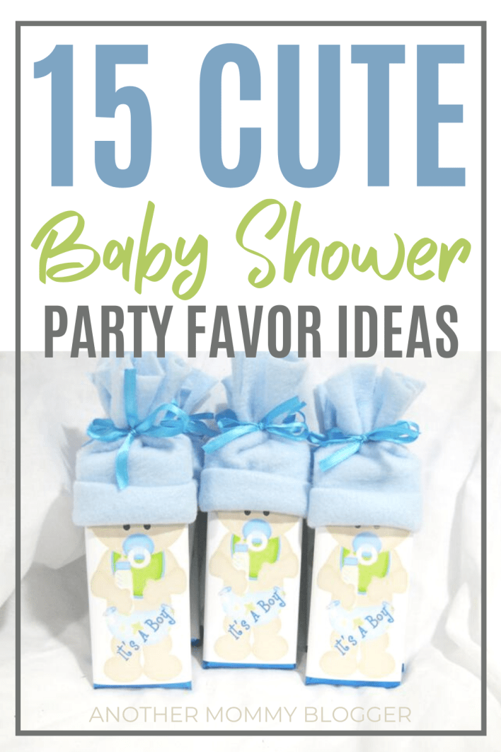 Need cute and cheap baby shower party favors ideas for girls or boys? Don't miss out on these. #babyshowerideas