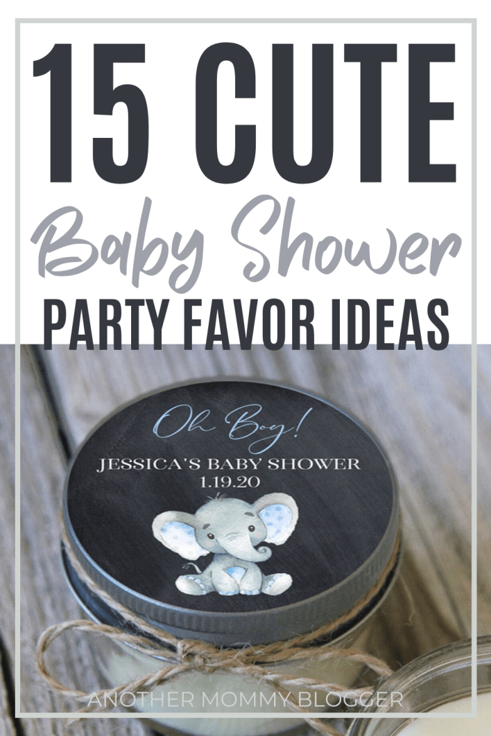 Whether you're having a baby shower for a boy or a girl you need to see these baby shower party favors. #babyshowerideas