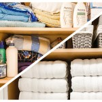 Bathroom Cabinet Organization Before & After