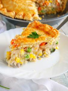 Freezer Chicken Pot Pie