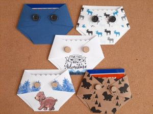 Diaper gift card holders for baby shower prize