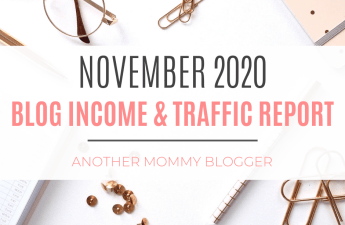 Blog income and traffic report November 2020