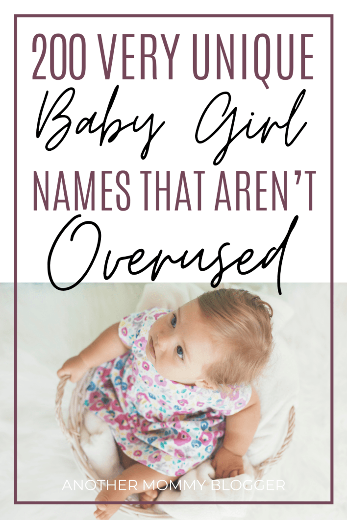 Looking for a modern girl name that is unique for your baby girl. You'll find the most uncommon baby names for girls that are beautiful on this baby names list.