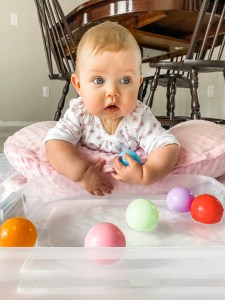Tummy time activities for babies