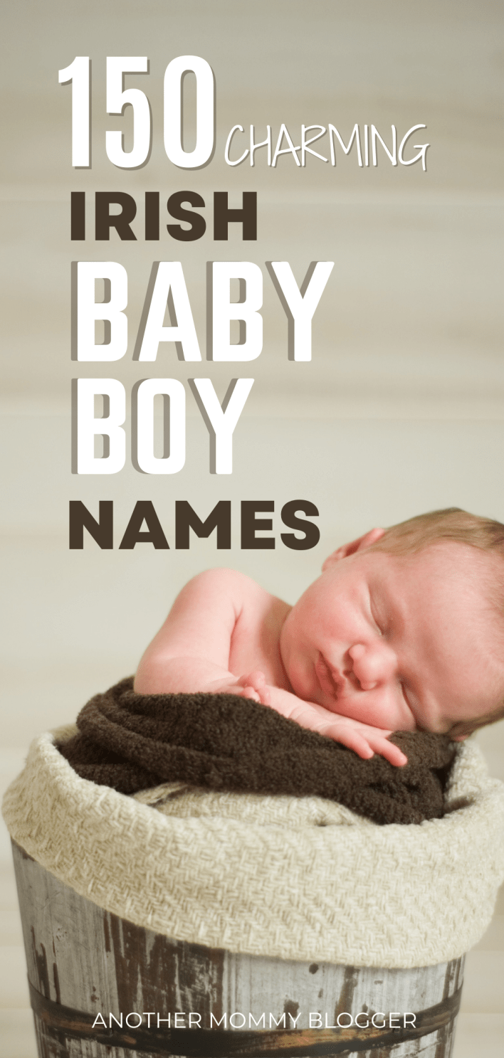 All the best Irish baby boy names with meaning! This list has a mix of unique Irish boy names as well as vintage Celtic boy names. This Irish baby boy names list has something thing for everyone. Whether you're looking for traditional Irish boy names or modern Irish names for boys you'll find something on this list