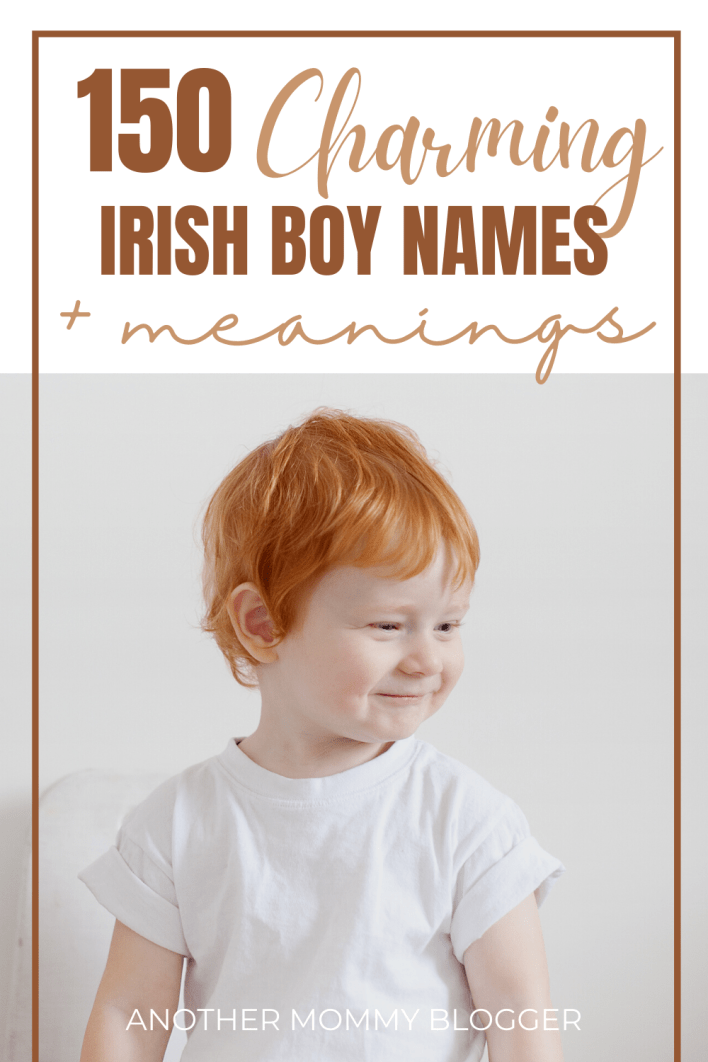 This is a list of cool Irish boy names with meanings. These Irish names for boys are so charming. What Irish Abby boy names do you like?