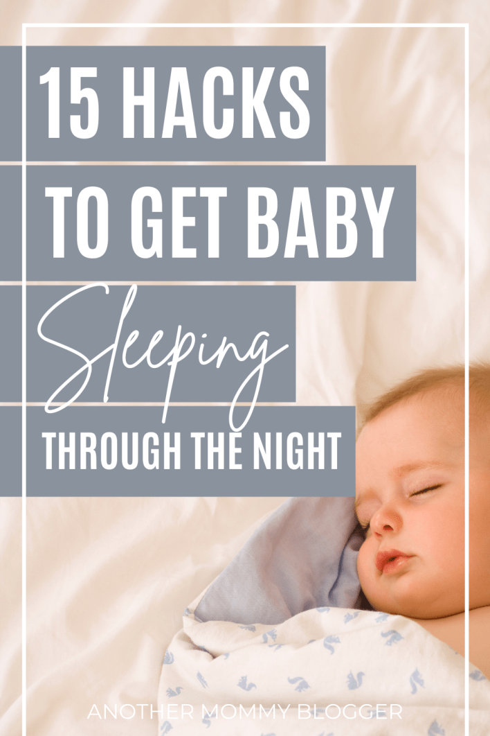 Get your baby on a sleep schedule with these baby sleep tips. Learn how to get baby to sleep through the night in their crib.