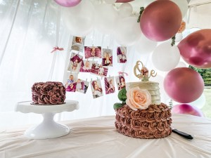 Girls first birthday party decorations