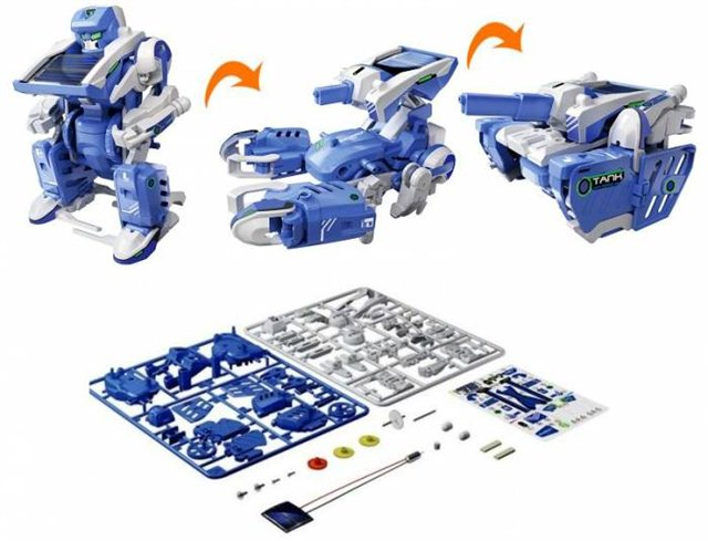 solar robot kit 3 in 1
