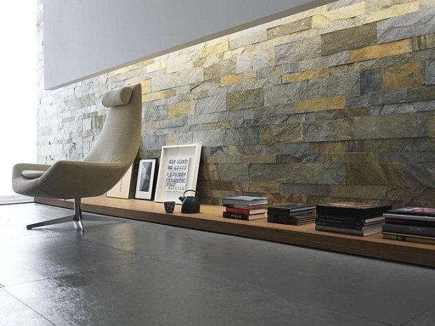 desain interior batu alam rumah minimalis modern
