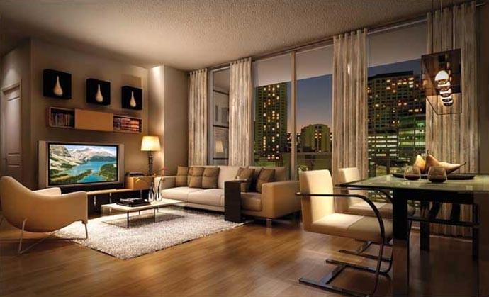 interior apartemen dijual