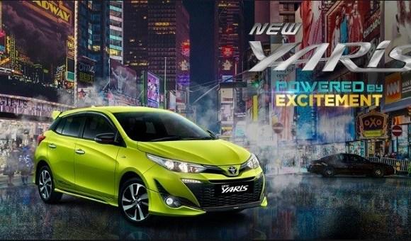 <span class='p-name'>Tampilan Sporty Dari Mobil Toyota New Yaris</span>