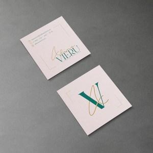 Alina Vieru Interior Designer Business card design