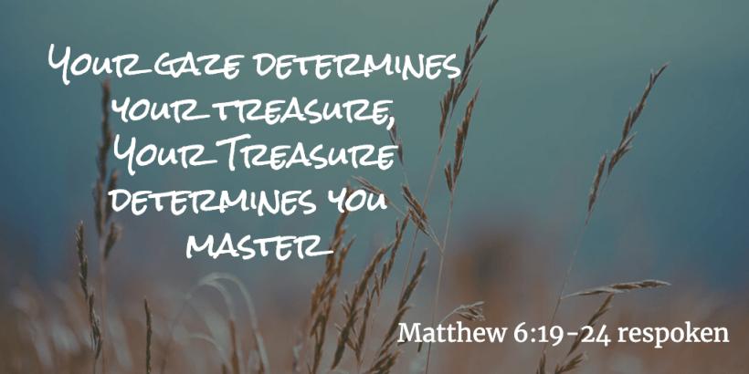 Matt 6 19-24