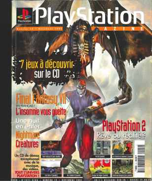 Playstation Magazine 14 cover