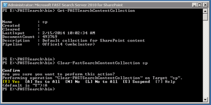 clear-fastsearchcontentcollection