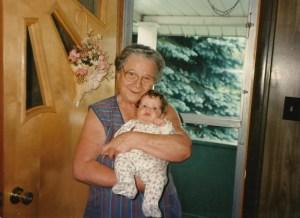 Grandma Jay and Molly