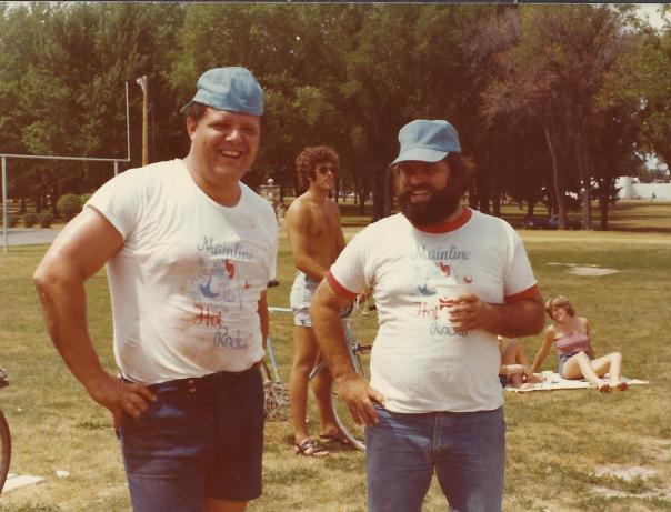 JPO and Dad softball