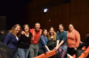 Here's a post-contest, post-midnight shot of our group. Me, Vinnie's Aunt Donna, Vinnie, Tiffany,Katherine, Molly and Aunt Jenny. Woo Hoo!