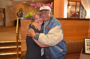 This is Fuzzy and my sister Kathy, two of the most resilient people I know.