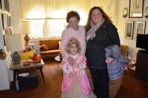 Connie Loescher, Jenna and Princess Erin