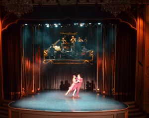 We saw an amazing tango show at the historic Esquina Carlos Gardel Theatre.