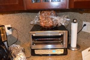 Il Pandoro on the toaster oven